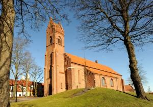 kirken fra tårnside